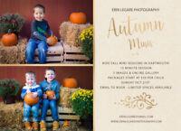 Kids Autumn Mini Photo Sessions - Sunday Oct 21st in Dartmouth!