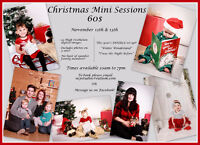 CHRISTMAS MINI SESSIONS!! NOV 12 &13 TWO SETS INCLUDED!!