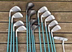 Golf Clubs LPGA Square Two 14 pc Golf Set Cheltenham Kingston Area Preview