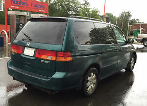 2002 Honda Odyssey - Well Maintained - Great Running Condition
