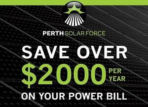 PERTH SOLAR FORCE - PERTH OWNED, PERTH RUN! Kinross Joondalup Area Preview