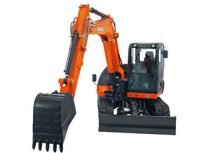Location de pelles neuves / Rental of Kubota digger