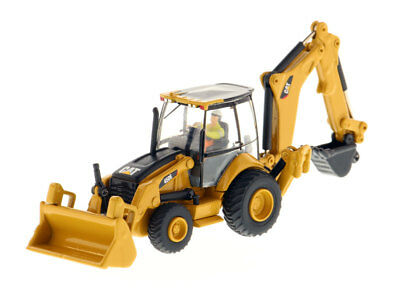 1/87 Caterpillar 450E Backhoe Loader Truck Crane Vehicles High Line Series Car for sale  Shipping to Canada