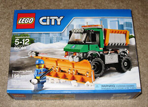 New LEGO CITY: Snowplow Truck Set 60083 (2015) Sealed