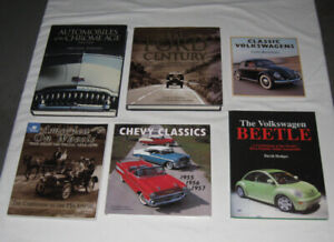 Assorted automotive books. $5.00 ea. or 5 for $20.00.
