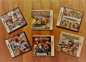 Six DS and 3DS games