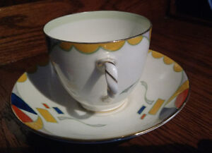 Cup and Saucer, Royal Doulton, Very Rare