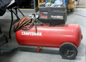 I want a craftman air compressor in good condition