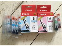 Various Canon BCI - 6 ink cartridges