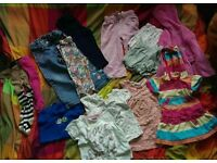 Baby Girls Clothes Bundle 12-18 & some 18-24