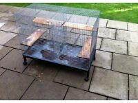 cage with stand for chinchilla, rat...