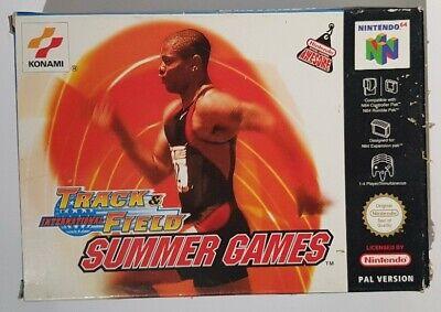 International Track & Field Summer Games - Nintendo N64 Console - cartridge
