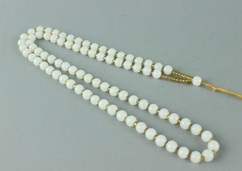 Купить Chinese hand-woven white jade necklace