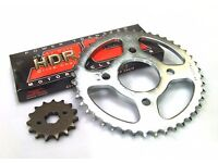 Chain and sprocket set for Honda CBR 125 heavy duty top brand call 07858106413