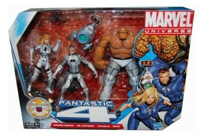 Marvel Universe Fantastic Four Future Foundation 3 Pack Boxed Set New Sealed