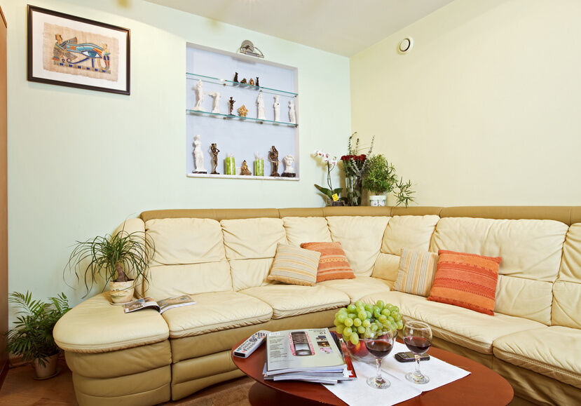 How to Care for a Leather Corner Sofa