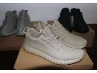 Brnad New Adidas Yeezy 350 Boost Oxford Tan Trainers with 3-12