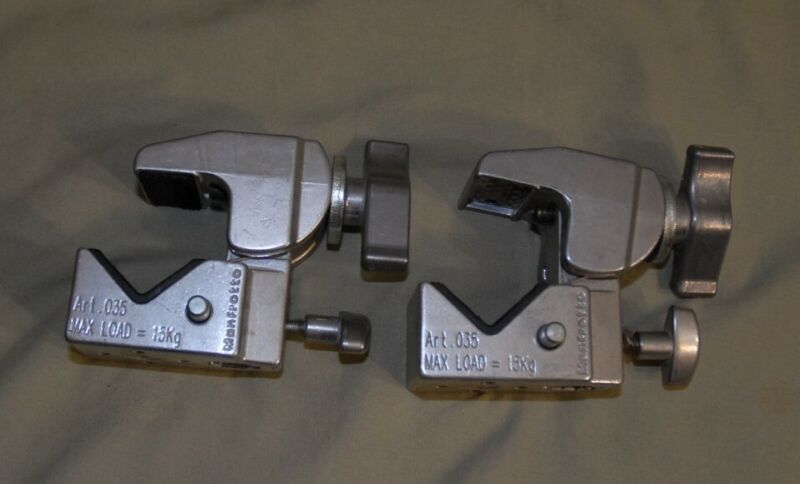 Two Manfrotto ART.035 , Used