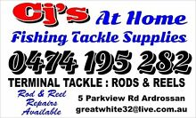 CJ'S AT HOME fishing tackle supplies. Open 6days.open Easter Ardrossan Yorke Peninsula Preview