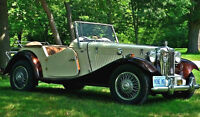MG kit car, British styling, German engineering