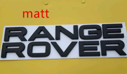 RANGE ROVER BLACK BADGE