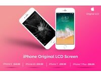iPhone 8/7 Plus/7/6s/6/6 Plus,5,5s, LCD Screen Repair 30 minutes Location Brent Cross
