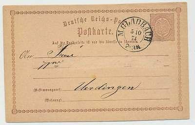 D.Reich nachv. Preußen-K2 M.GLADBACH5 10 74 auf P 1 n. UERDINGEN (23116)