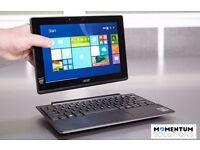ex Demo - Acer Aspire Win 10 Tablet Detachable 2-in-1 laptop Grey, 10.1, 2GB RAM, 64GB