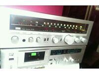 Sansui Receiver tuner Amp and Tape deck - Vintage HiFi