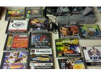 Ps1 and games for sale