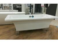 New free standing bath