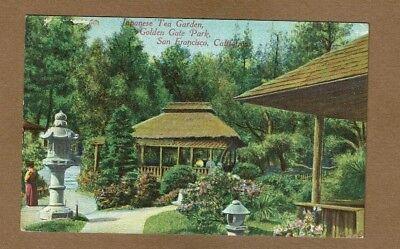 Tea Garden Golden Gate Park - San Francisco,California CA Golden Gate Park, Japanese Tea Garden