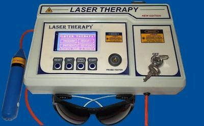 Pre Programmed Different Medical Laser Therapy Software Physiotherapy Unit