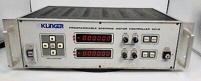 Klinger Controller Programmable Stepping Motor Controller Model- Cc1.2