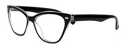 Womens Cat Eye Eyeglass Frames Vintage Glasses Fashion Tortoise Costume Eyewear](Costume Eyewear)