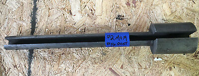 Used Mitts Merrill Keyseater Tool Post W Integral Bushing 1-316 Dia 15 L