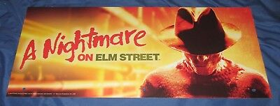 SPIRIT HALLOWEEN Store Exclusive Display Sign FREDDY KRUEGER / NIGHTMARE ELM ST](Halloween Store Displays)