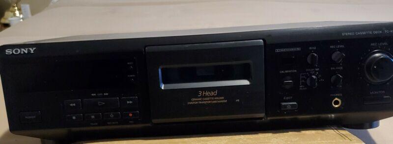 Sony TC-KE500S cassette deck