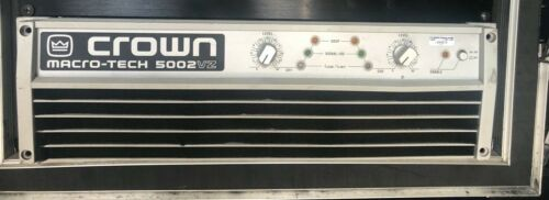 CROWN MACRO-TECH MA5002VZ POWER AMPLIFIER