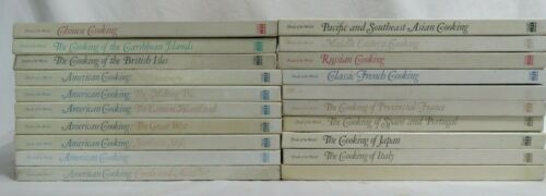 Time Life FOODS OF THE WORLD 20-Hardcover No Spiral Cookbooks ~ Incomplete Set