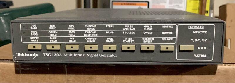 Tektronix TSG130A Multiformat Signal Generator