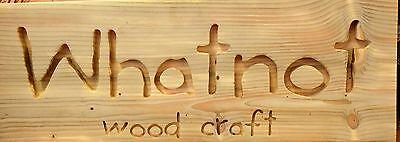 Whatnot Wood Craft