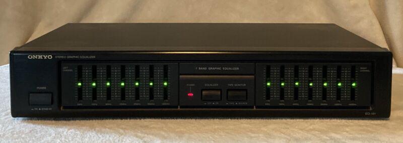Vintage Onkyo EQ-101 Stereo Graphic Equalizer