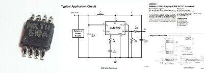 Lm2622 S18a S18b 600khz1.3mhz Step-up Pwm Dcdc Spannungsregler Msop-8