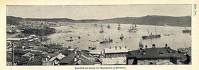 Überblick des Hafens Wladiwostok in Ostsibirien c.1904