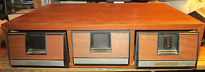 CASSETTE STORAGE UNIT HOLDS 42 CASSTTES GOOD CONDITION UP TO 4 AVAILABLE