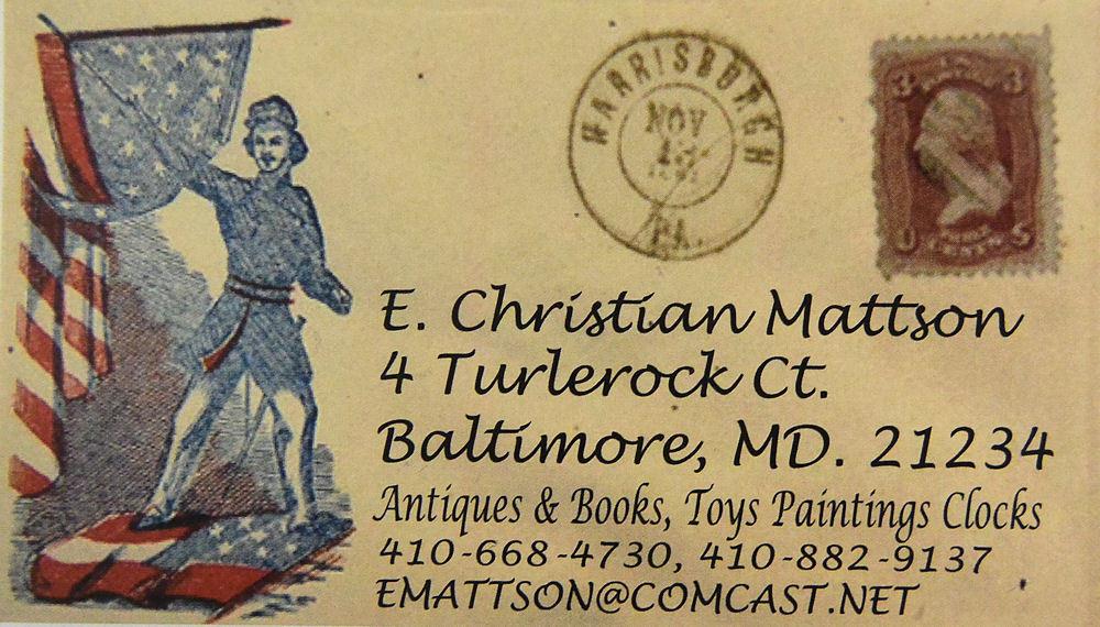 E.Christian Mattson-Antiques