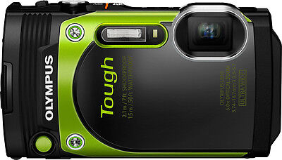 Olympus Tough TG-870 16 Megapixel Compact Camera - Green - 3