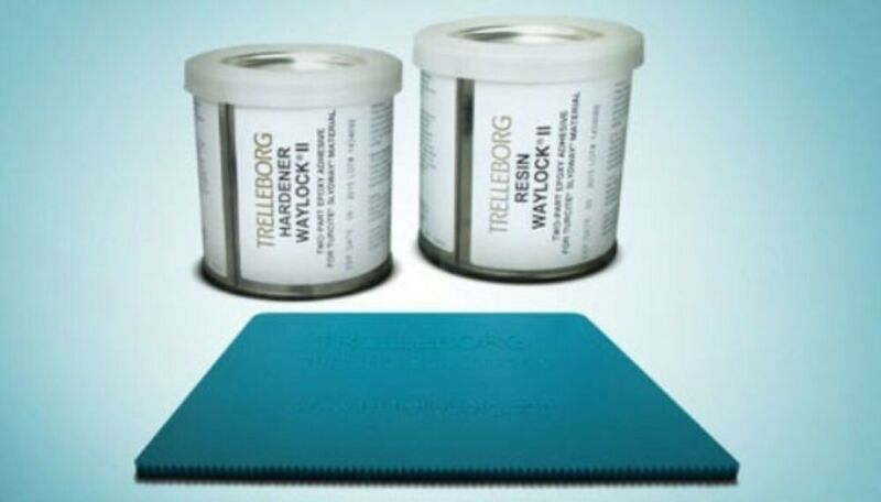 TURCITE ADHESIVE 1 PINT KIT Waylock® Epoxy 14286-4