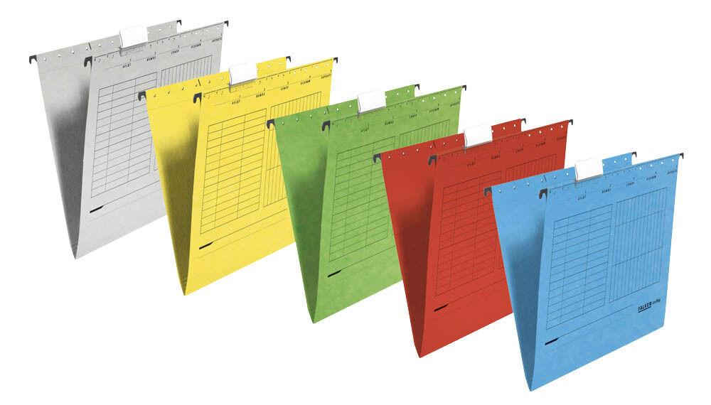 FALKEN A4 Hängemappen Hängeregister Hängeregistratur farbig